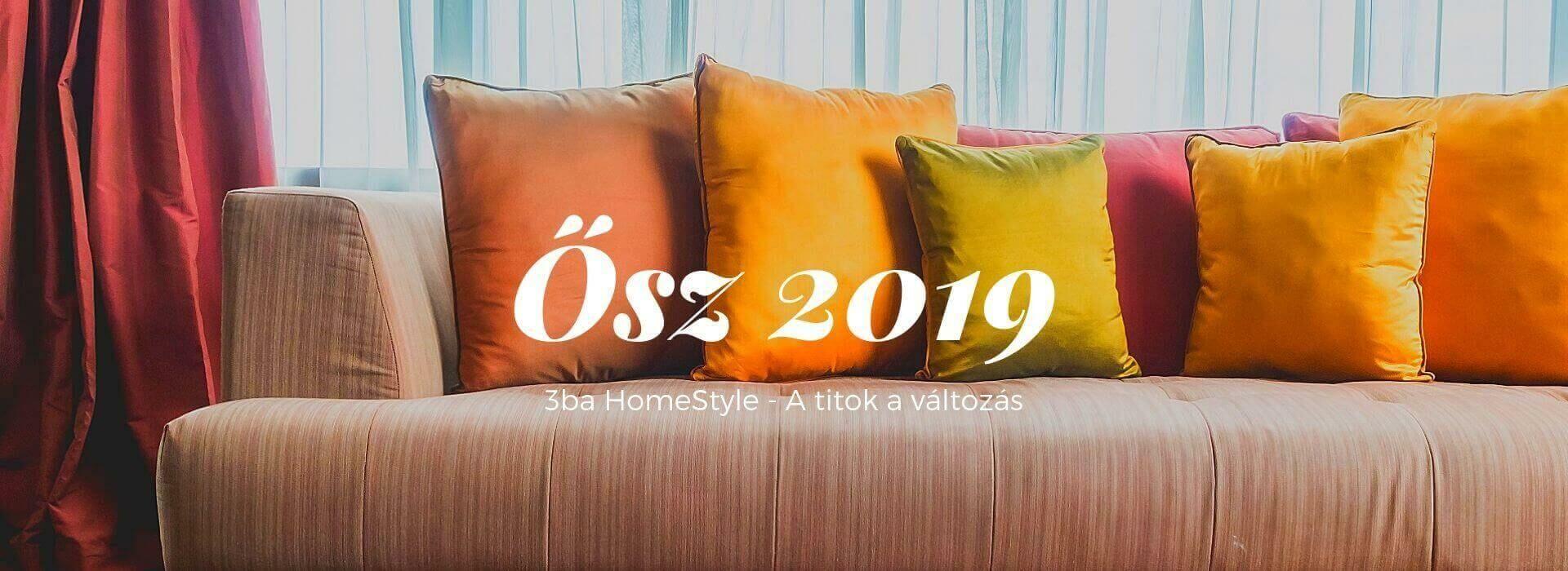 Őszi díszpárnák 2019