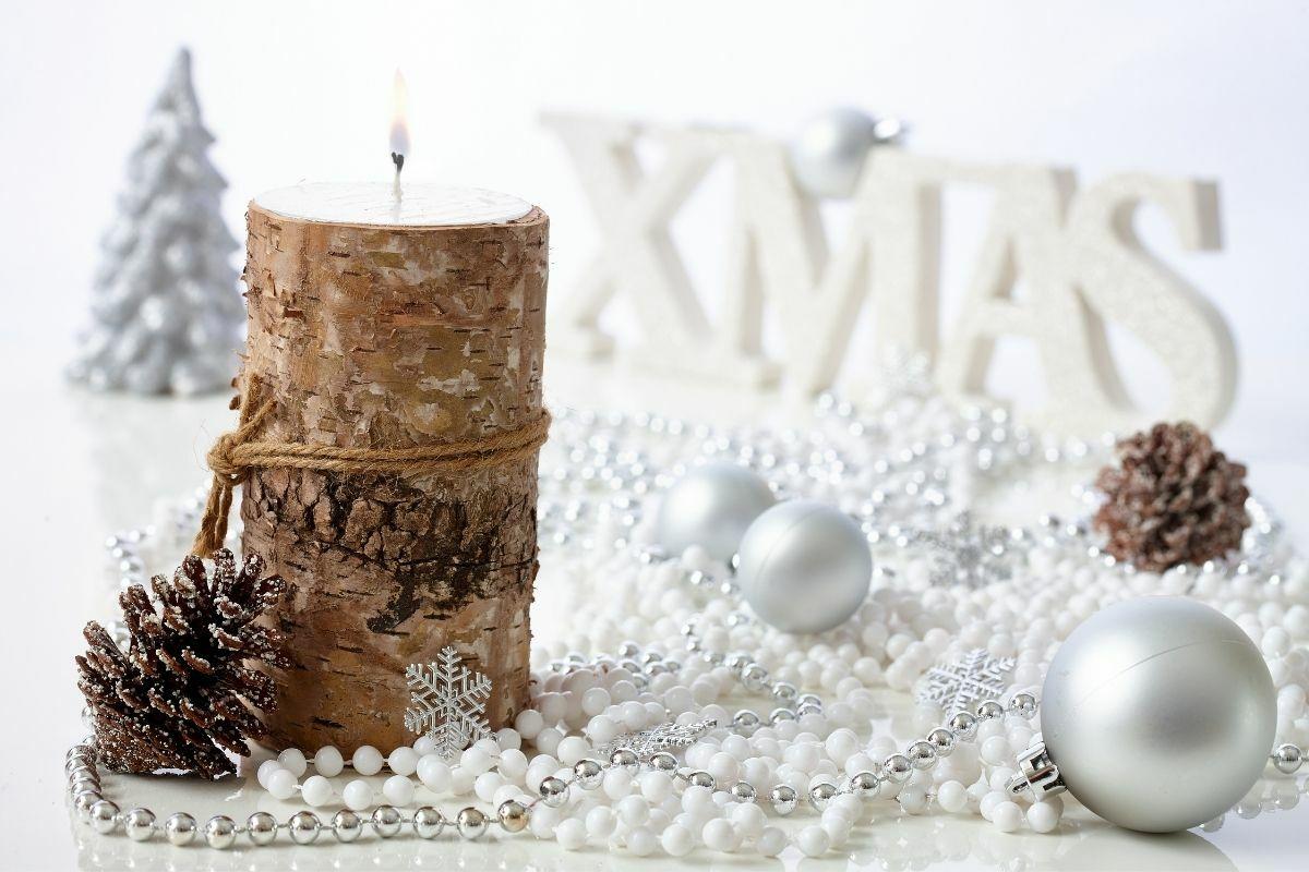 Naturális karácsonyi dekor
