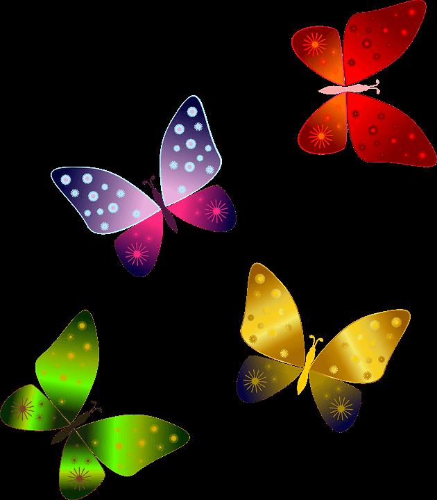 Színes pillangók