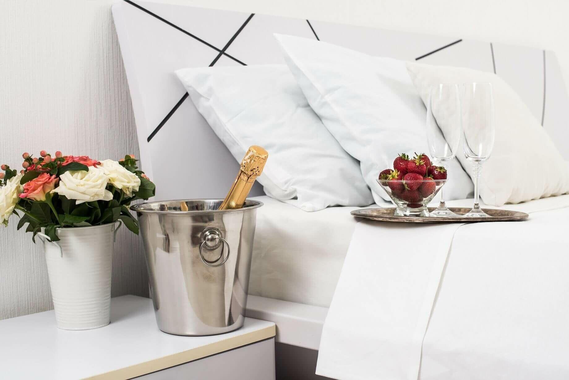 Luxus fehér ágynemű