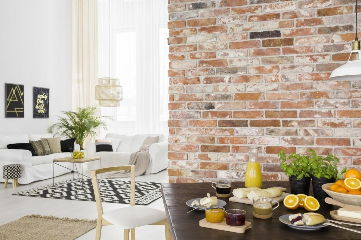 Modern nappali és étkező egyben