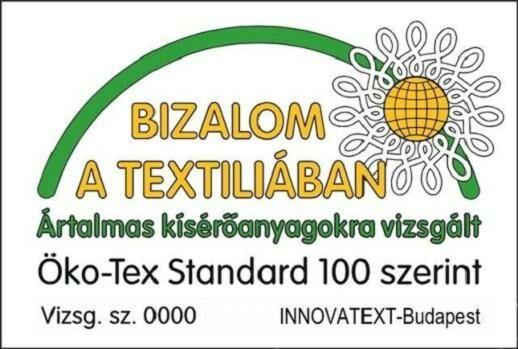ÖKO-TEX Bizalom a textíliában minősítés