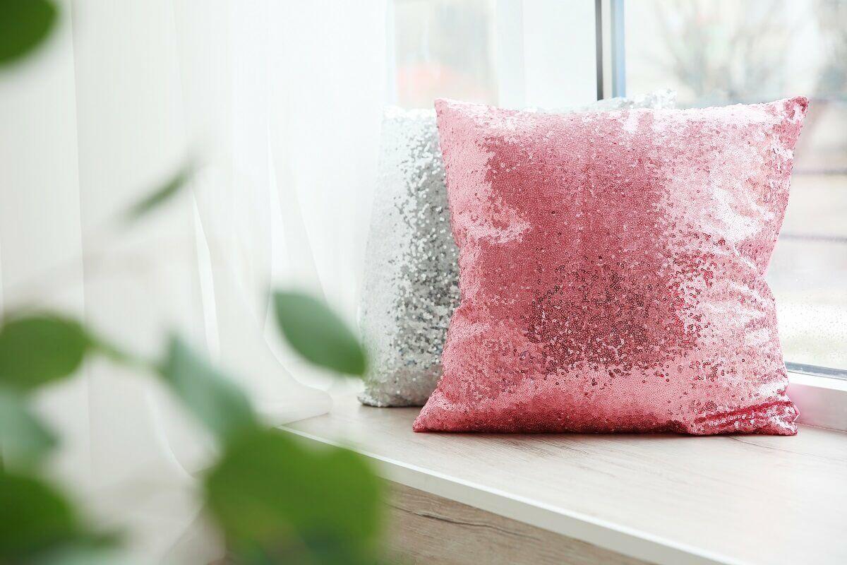 Rózsaszín sellőpárna