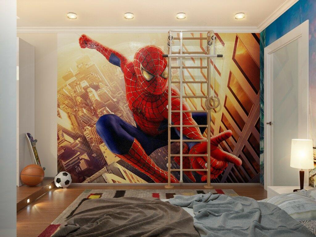 Vagány pókemberes fiúszoba