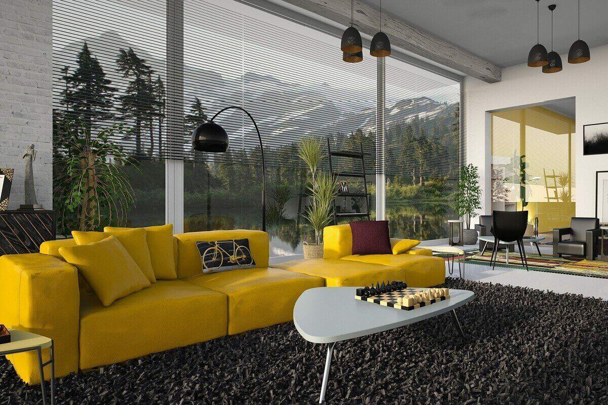 Lenyűgöző nappali