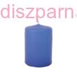 Kék adventi gyertya