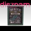 Retro Coffee Zöld falikép