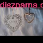 Szív dekoráció variáció