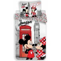 Minnie és Mickey egér Londonban ágynemű