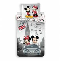 Minnie és Mickey egér Londonban - Cabrio ágynemű