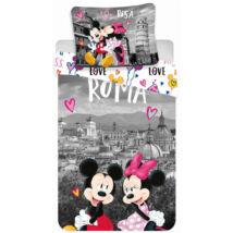 Minnie és Mickey egér Rómában ágynemű