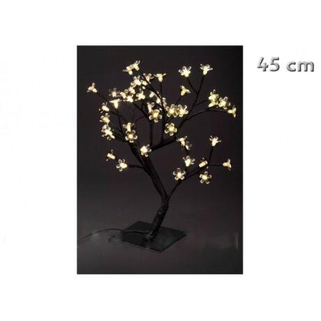 48 ledes melegfehér világító fa karácsonyi dekoráció