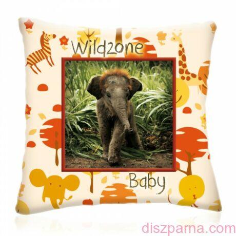 Wild Zone Baby Kis Elefánt díszpárna