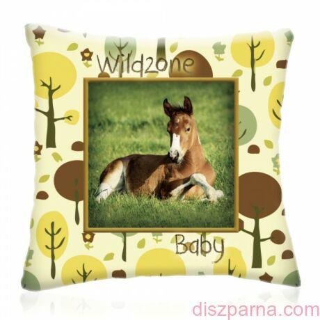 Wild Zone Baby Lovacska díszpárna