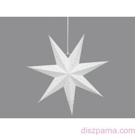 Fehér csillag lampion