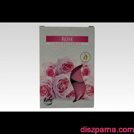 Rózsa illatos teamécses