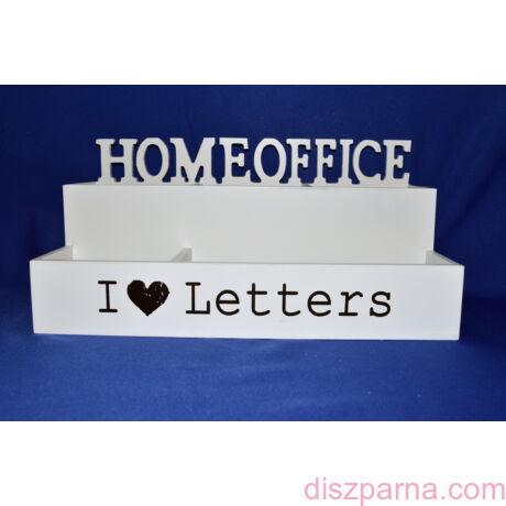 I love letters Home office levél és írószertartó