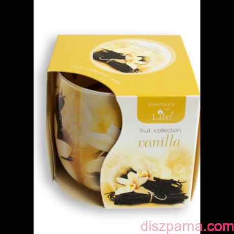 Vanília poharas illatmécses