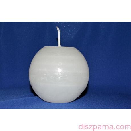 Rusztikus Fehér Gömb gyertya