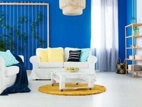 Hogyan használjuk a színeket a lakberendezésben? 4. rész: A kék szín használata