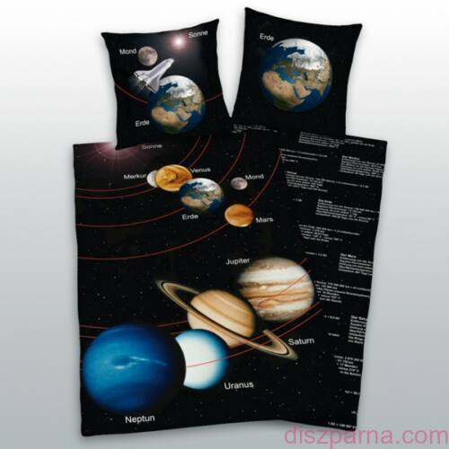 Bolygós Globes ágynemű