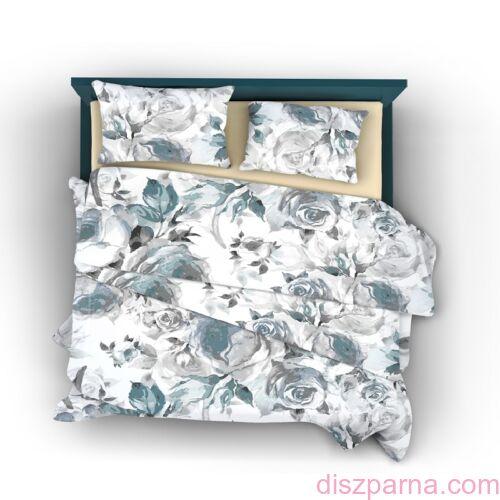 Blue Rose B pamut-szatén ágynemű