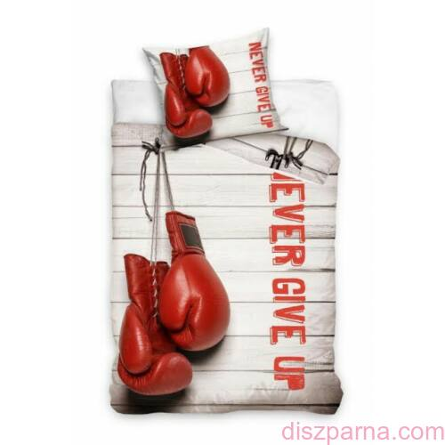 Box Never give up ágynemű