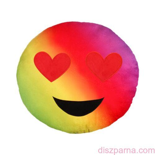 Emoji Szivárványos Napszemüveges formapárna