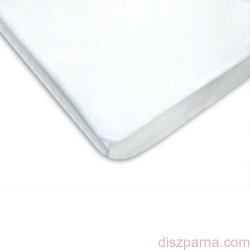 Fehér jersey lepedő 90x200 cm