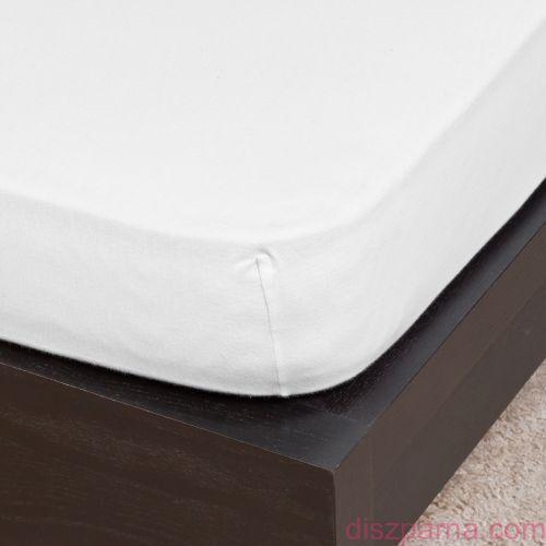 Fehér jersey lepedő 100x200 cm
