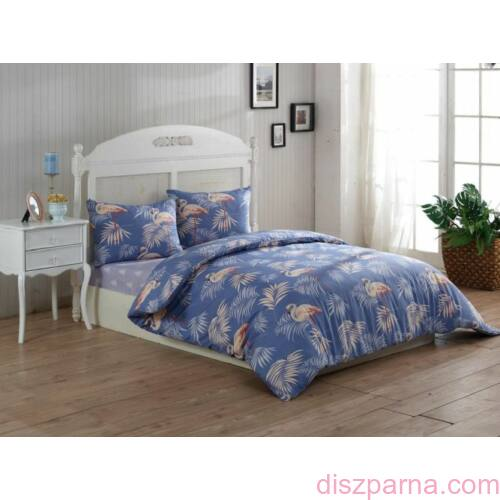 Flamingó pamut-szatén ágynemű