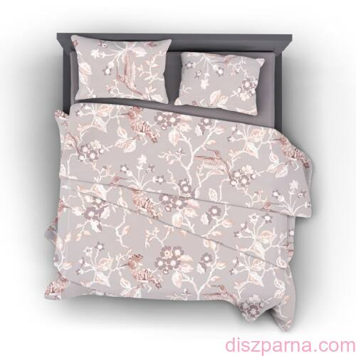 Floral B pamut-szatén ágynemű
