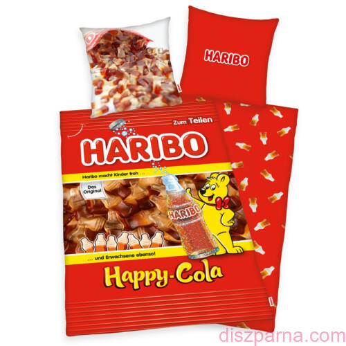 Haribo gumicukor Cola ágynemű