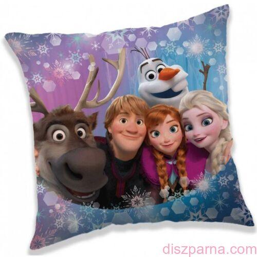 Jégvarázs Disney Frozen díszpárnahuzat