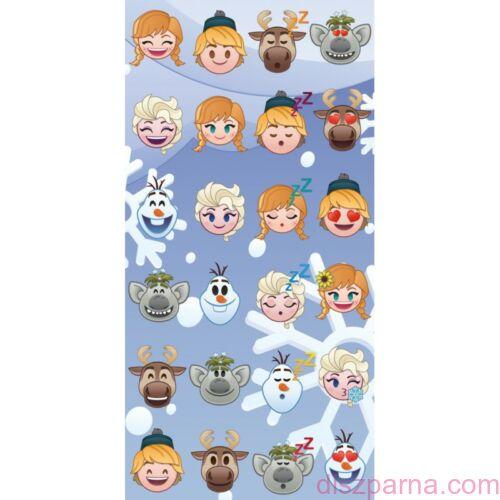 Jégvarázs Emoji törölköző 70x140 cm