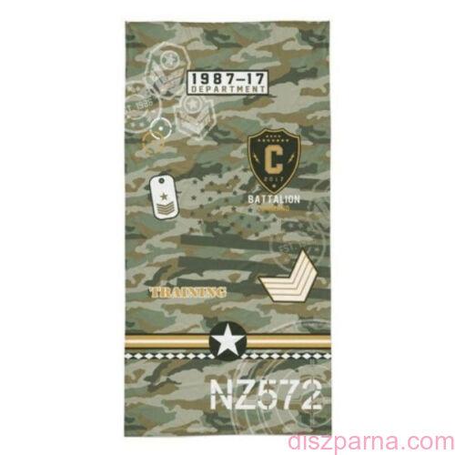 Katonai mintás törölköző 70x140 cm
