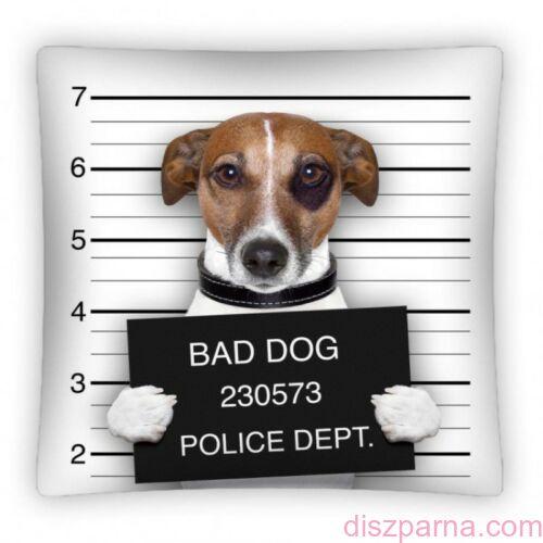 Kutyás Bad Dog díszpárnahuzat