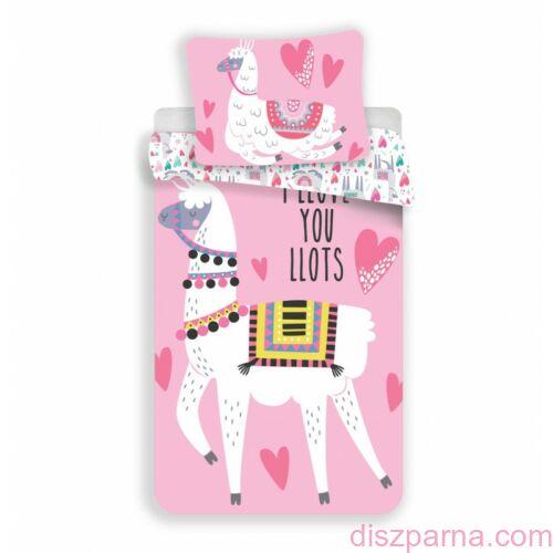 Lámás Rózsaszín ágynemű