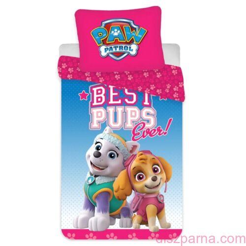 Mancs Őrjárat Best Pups óvodai ágynemű