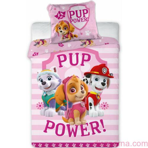 Mancs Őrjárat Pup Powen óvodai ágyneműín ovis ágynemű