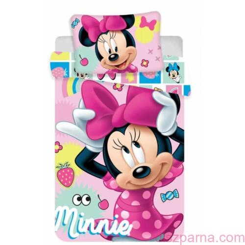 Minnie egér Minnies mouse ovis ágynemű szettuse óvodai ágynemű
