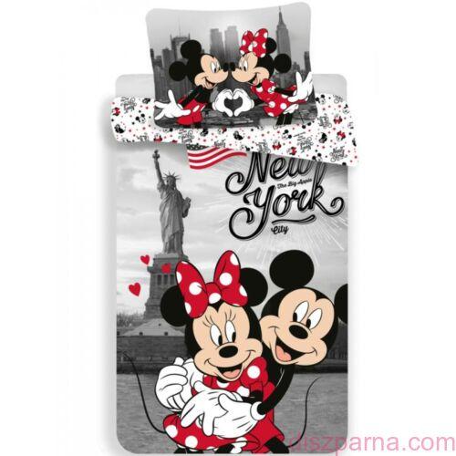 Minnie és Mickey egér New Yorkban ágynemű