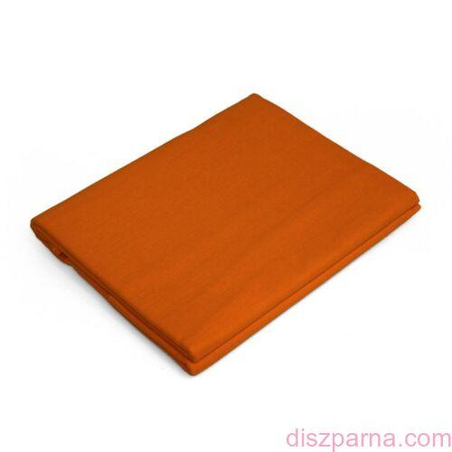 Narancssárga aláhajtós lepedő 180x240 cm