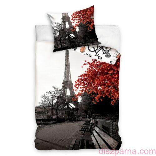 Párizs Bonjour ágynemű