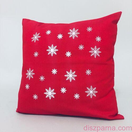 Angel Hópihe Piros karácsonyi párna