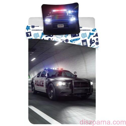 Rendőrautós ágynemű