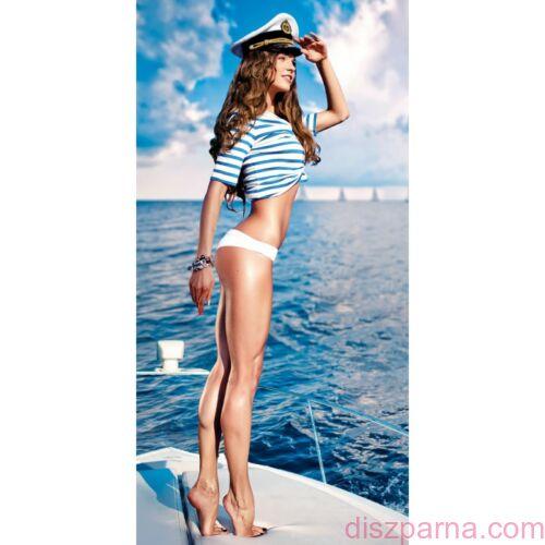 Sailor girl törölköző 70x140 cm