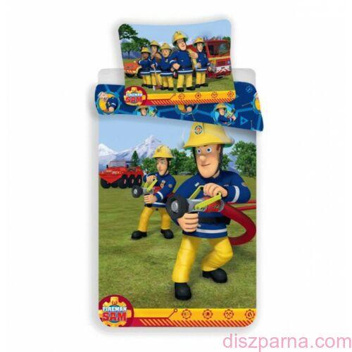Sam a Tűzoltó Fireman ovis ágynemű szett