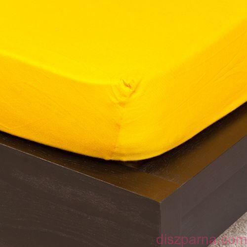 Sárga jersey lepedő 160x200 cm