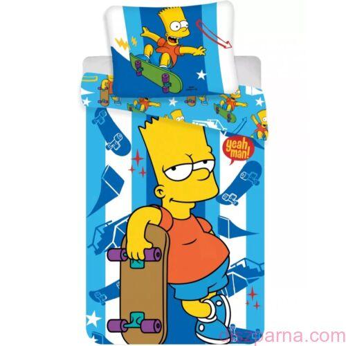 The Simpsons Bart ágynemű